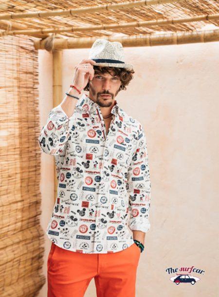 Camisa Mickey Vintage